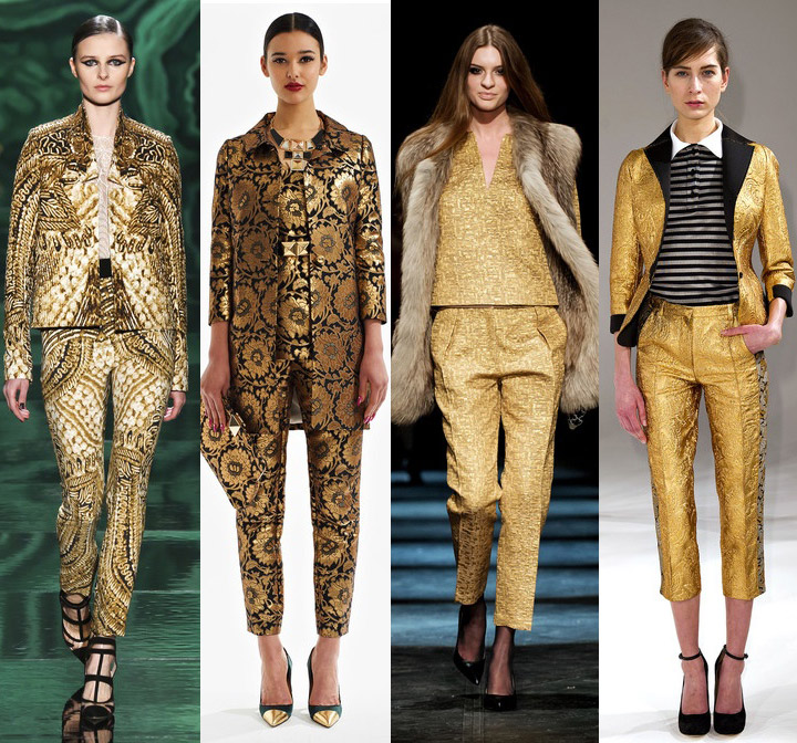 Fall 2013 Trend- Golden Child | DeSmitten