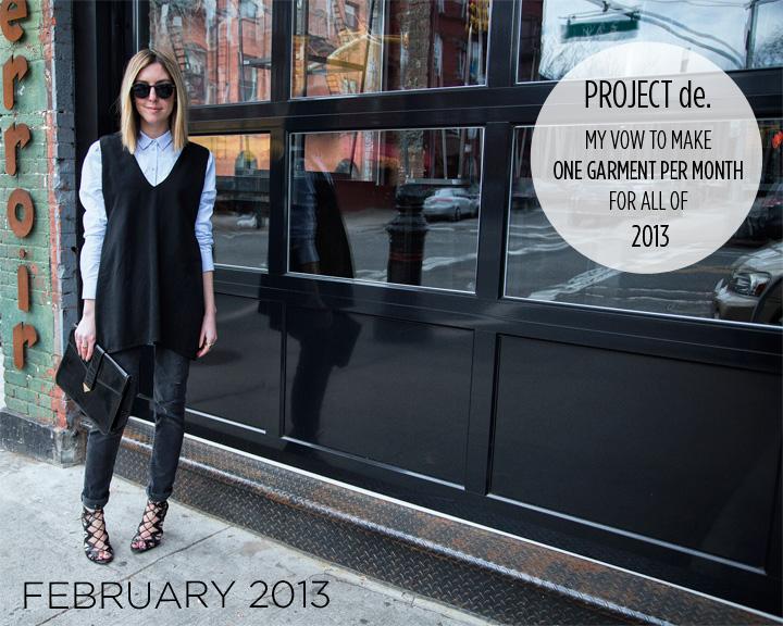 Women's Fashion Double VNeck Vest by Christina DeSmet | DeSmitten