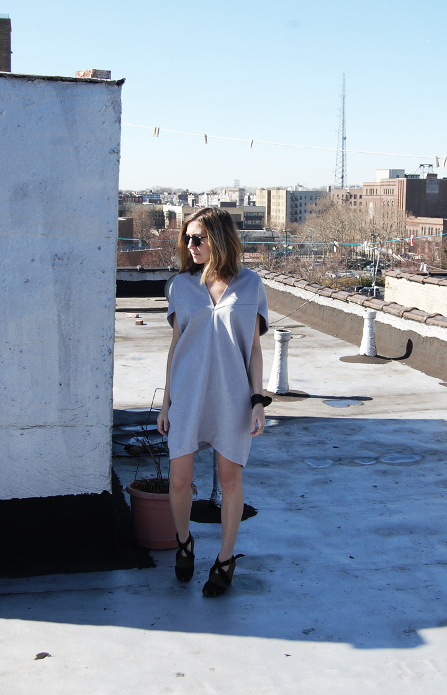 Project de March 2013 Christina DeSmet Geo VNeck Dress Women's Fashion Spring 2013 | DeSmitten
