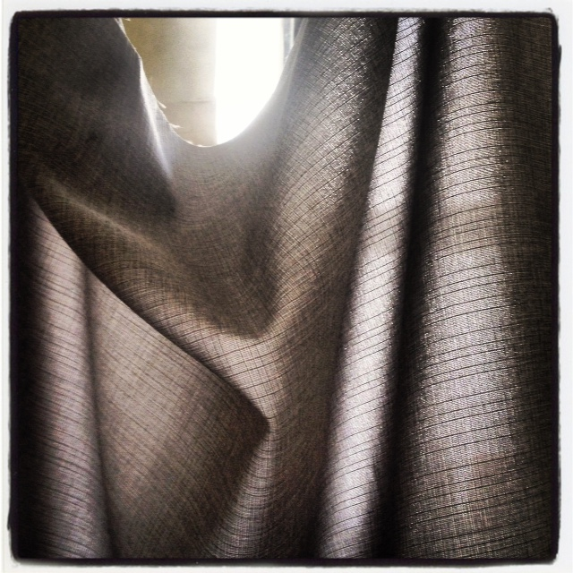Grey Vintage Draped Fabric | DeSmitten