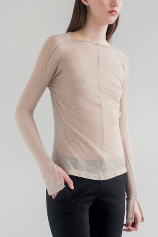 FIFTH-LONG-SLEEVE-KNIT-TOP-SEDIMENT-DE-SMET