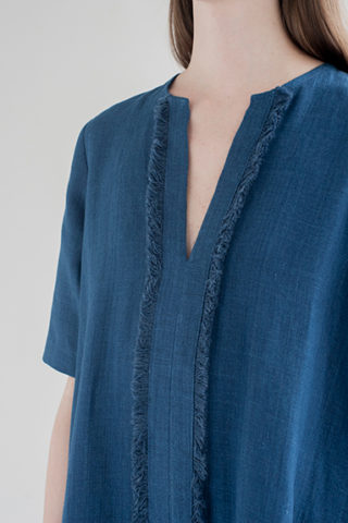 12th-fringed-placket-dress-indigo-2-made-in-ny-DE-SMET
