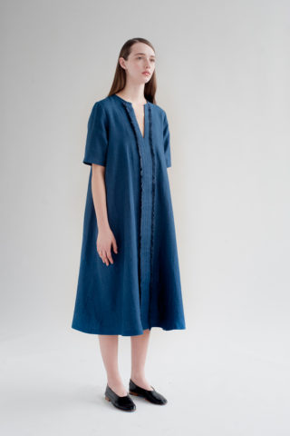 12th-fringed-placket-dress-indigo-6-made-in-ny-DE-SMET