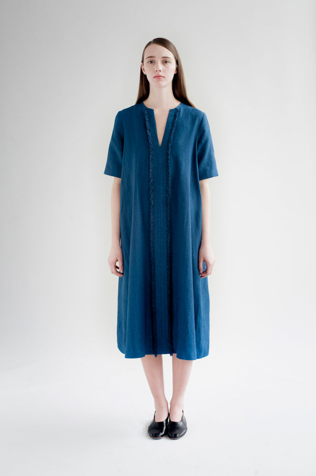 12th-fringed-placket-dress-indigo-7-made-in-ny-DE-SMET