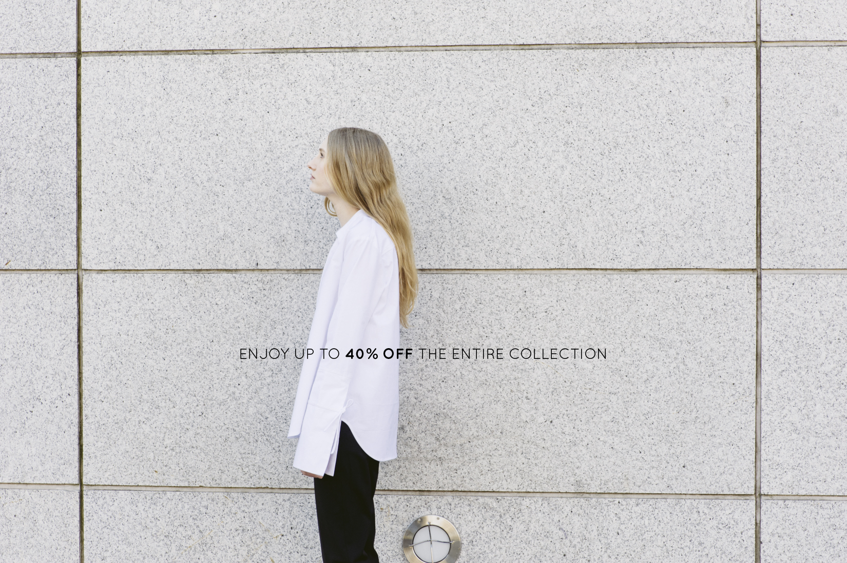 40% off entire collection
