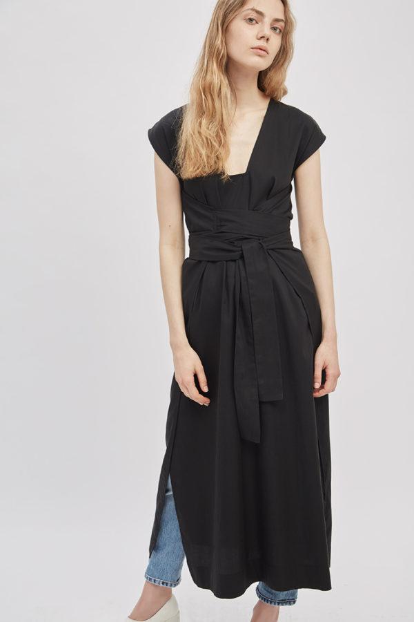 14th-transformative-tie-dress-black-wrap-dress-made-in-ny-DE-SMET-2