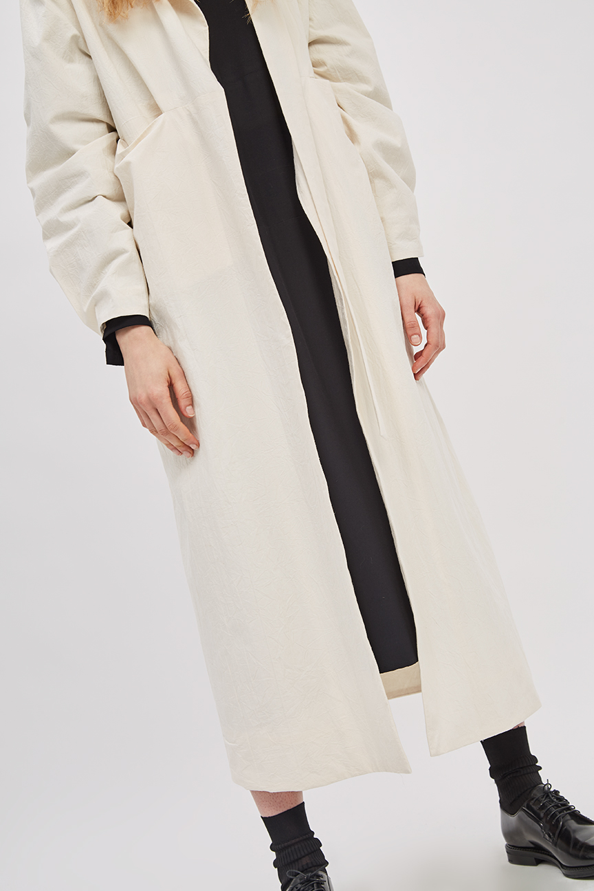 Canvas overcoat